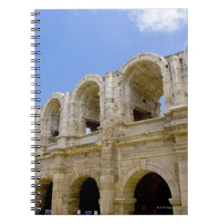 Arles, France, Exterior of the Arles antique 2 Spiral Notebook