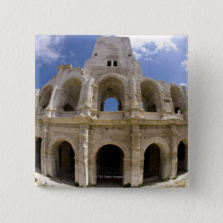 Arles, France, Exterior of the Arles antique 3 15 Cm Square Badge