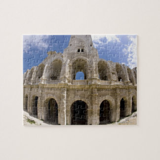 Arles, France, Exterior of the Arles antique 3 Puzzle