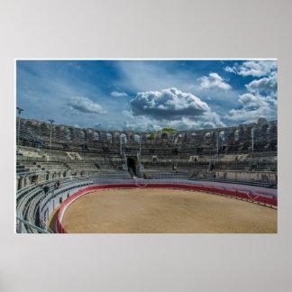 Arles France - R0man Coliseum Poster
