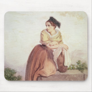 Arlesienne from the Time of Daudet and Bizet Mouse Pad