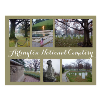 Arlington Cemetery Collage Postcard