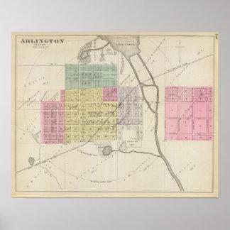 Arlington, Kansas Poster