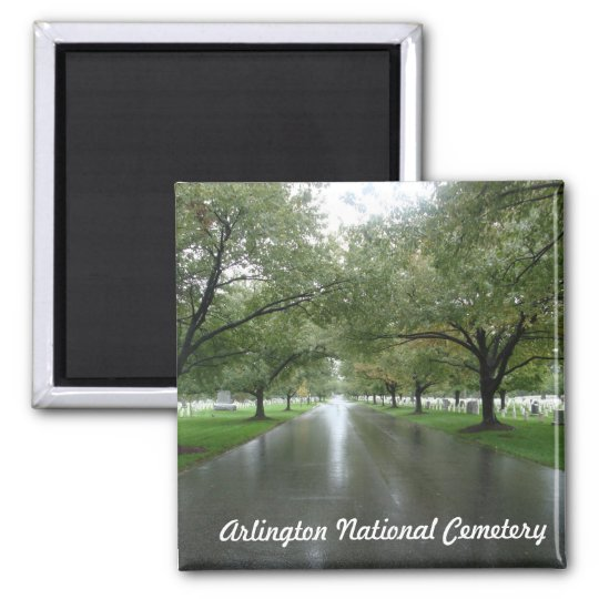 Arlington National Cemetery Square Magnet