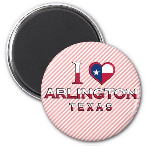 Arlington, Texas 6 Cm Round Magnet