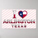 Arlington, Texas Print