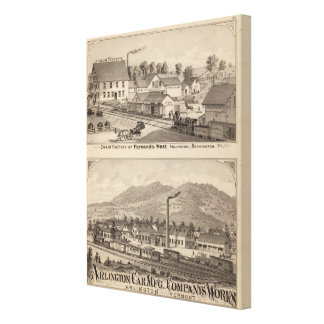 Arlington Vermont Canvas Print