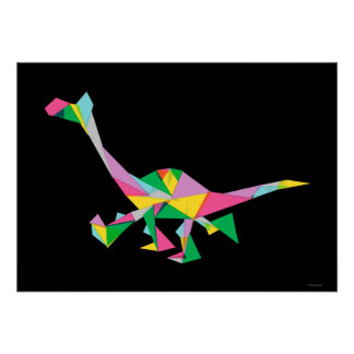 Arlo Abstract Silhouette Poster