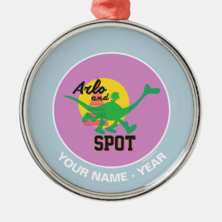 Arlo And Spot Sunset Christmas Ornament