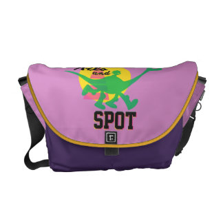 Arlo And Spot Sunset Courier Bags