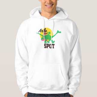 Arlo And Spot Sunset Hoodie