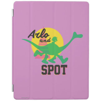 Arlo And Spot Sunset iPad Cover