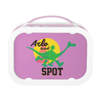 Arlo And Spot Sunset Lunch Box