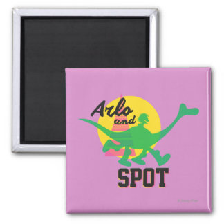 Arlo And Spot Sunset Magnet