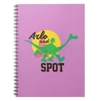 Arlo And Spot Sunset Notebooks