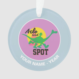 Arlo And Spot Sunset Ornament