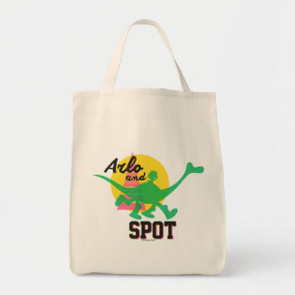 Arlo And Spot Sunset Tote Bag