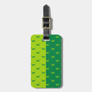 Arlo Half Color Running Luggage Tag
