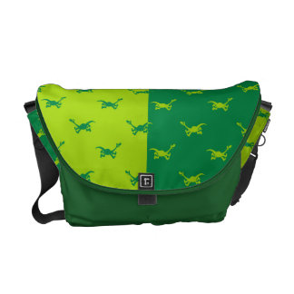 Arlo Half Color Running Messenger Bags