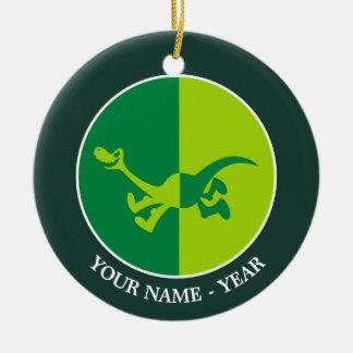 Arlo Half/Half Christmas Ornament