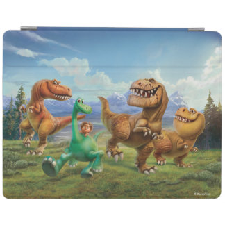 Arlo, Spot, and Ranchers In Field iPad Cover