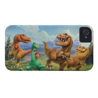 Arlo, Spot, and Ranchers In Field iPhone 4 Case-Mate Cases