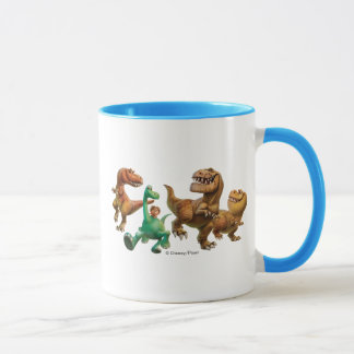 Arlo, Spot, and Ranchers In Field Mug