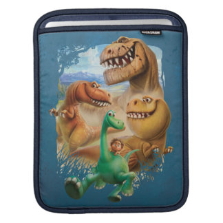 Arlo, Spot, and Ranchers In Forest iPad Sleeve