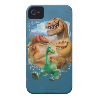 Arlo, Spot, and Ranchers In Forest iPhone 4 Case