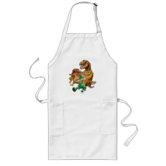 Arlo, Spot, and Ranchers In Forest Long Apron