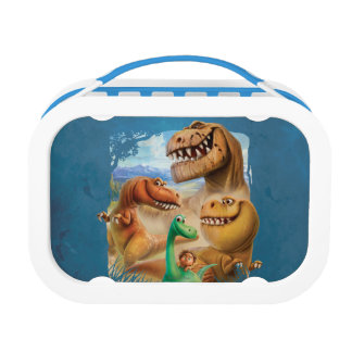 Arlo, Spot, and Ranchers In Forest Lunch Box