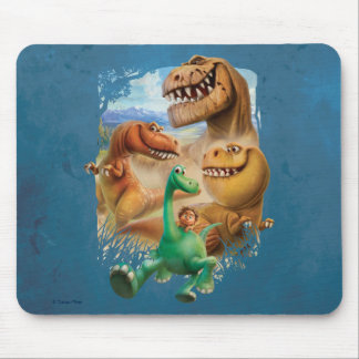 Arlo, Spot, and Ranchers In Forest Mouse Mat