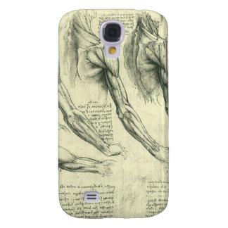 Arm and Shoulder Anatomy by Leonardo da Vinci Galaxy S4 Case