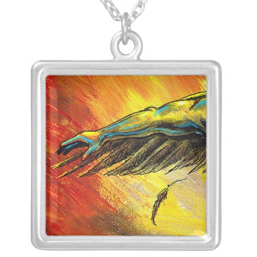 Arm and Wing necklace