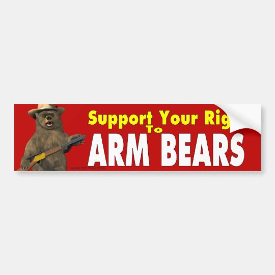 Arm Bears! Bumper Sticker