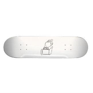 Arm Holding a Beer Mug Custom Skate Board