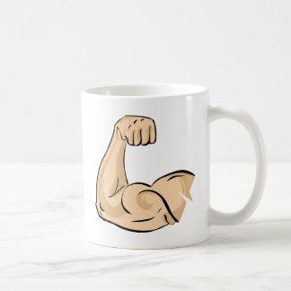 Arm Muscle Basic White Mug