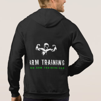Arm Training Bodybuilding Sleeveless Zip Hoodie