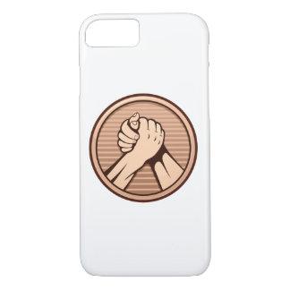 Arm wrestling Bronze iPhone 7 Case