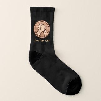 Arm wrestling Bronze Socks