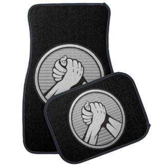 Arm wrestling Silver Floor Mat