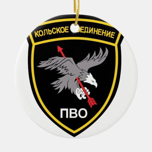 Armabzeichen der Russischen Luftabwehr Einheiten Christmas Ornament