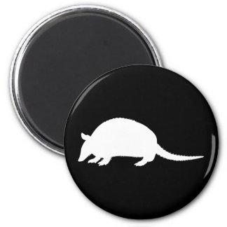 Armadillo 6 Cm Round Magnet