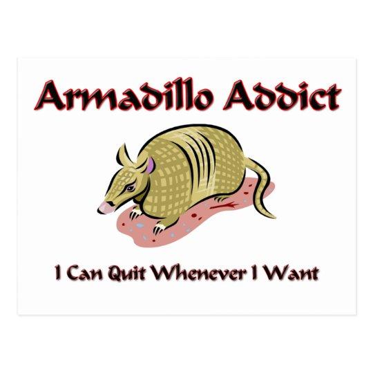 Armadillo Addict Postcard