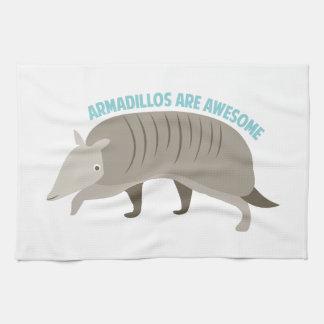 Armadillo_Armadillos_Are_Awe Tea Towel