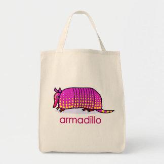 armadillo canvas bag