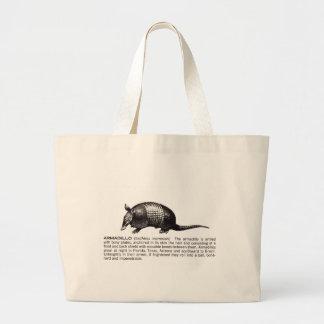 armadillo large tote bag