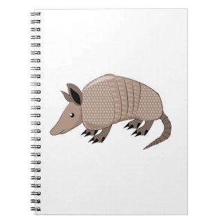 Armadillo Spiral Notebooks