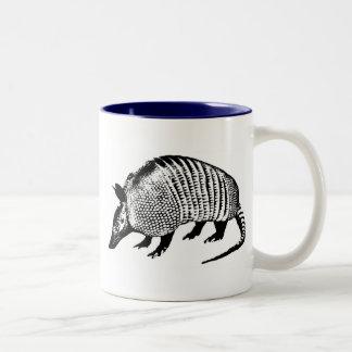 Armadillo Two-Tone Coffee Mug
