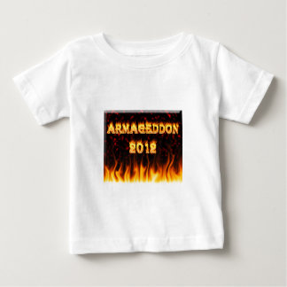 Armageddon 2012 fire and flames. t shirts